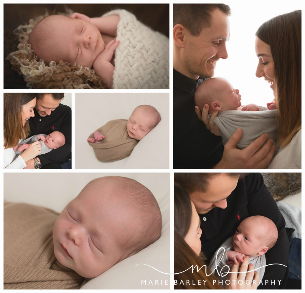 Newborn Photography by Marie Barley Photography
